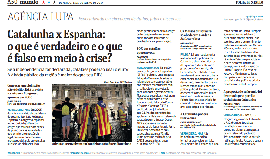 folha catalunha