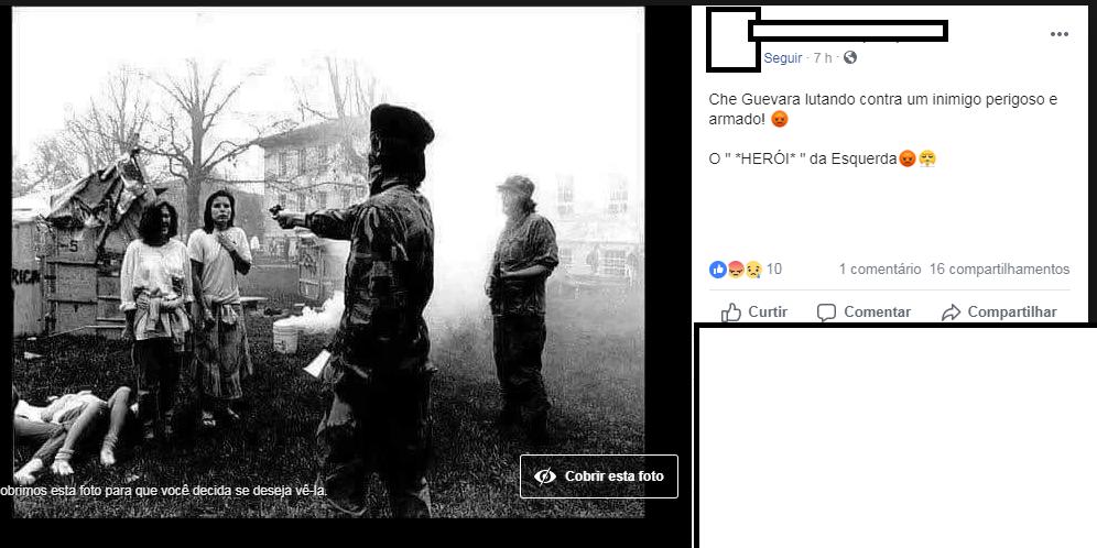 Verificamos Che Guevara Não Aparece Em Imagem Executando Duas Mulheres
