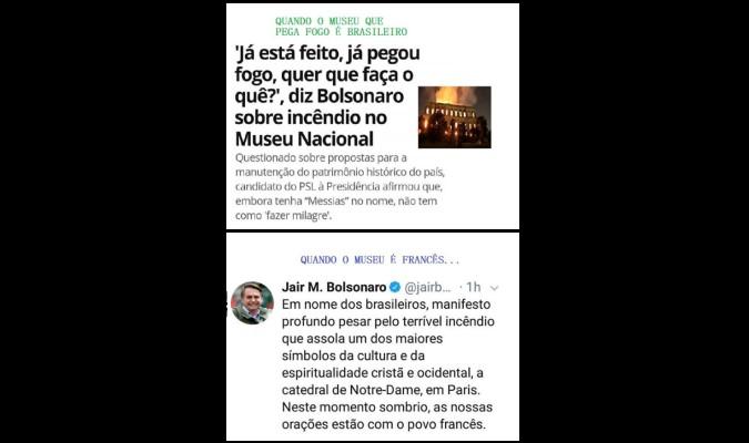 Verificamos: São verdadeiras as frases de Bolsonaro sobre