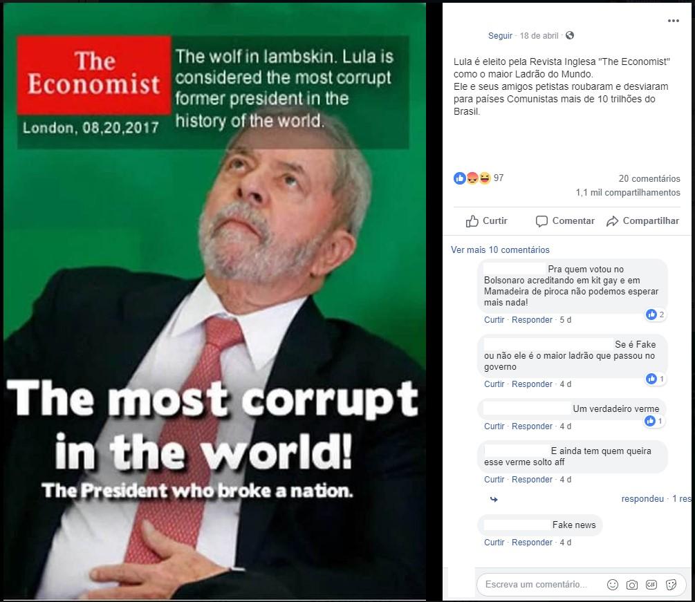 #Verificamos: É Falsa Capa Da The Economist Que Coloca