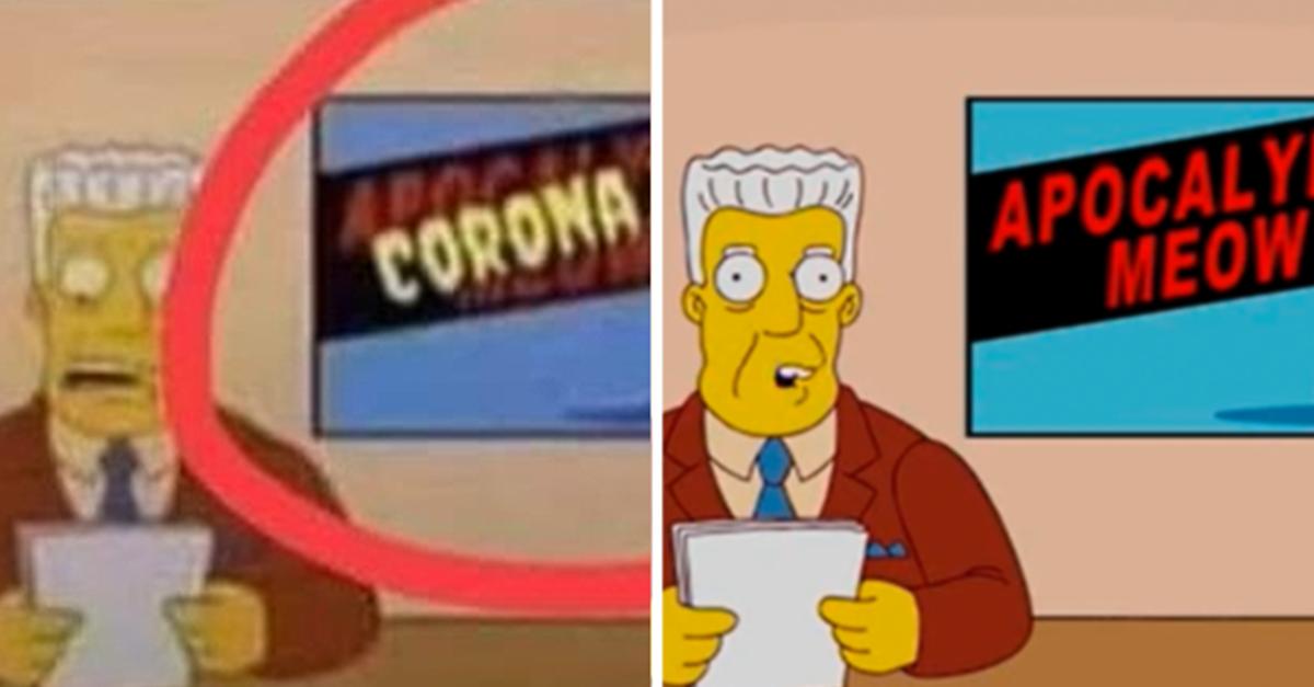 Verificamos: É falso que Os Simpsons previram a chegada do novo ...