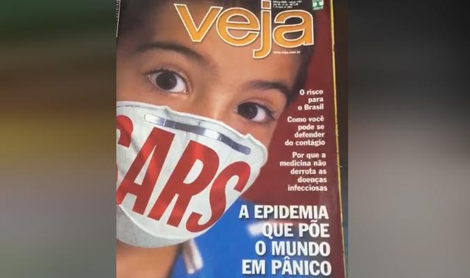 infierno Derrotado Resbaladizo  Verificamos: É falso que Revista Veja publicou reportagem sobre a Covid-19  em 2003 | Agência Lupa