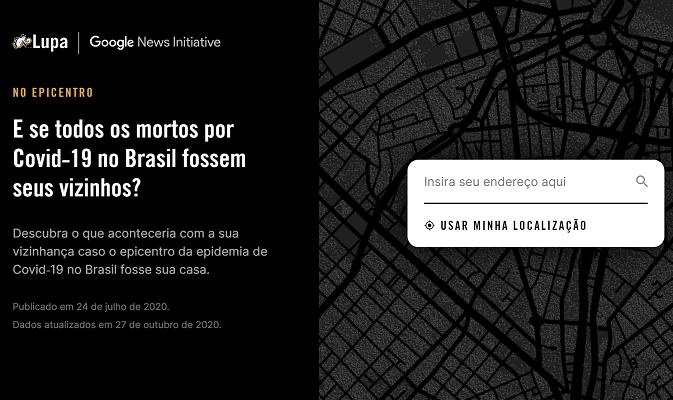 [Agência Lupa] No epicentro: visualização de dados da Lupa ganha dois prêmios latino-americanos de jornalismo