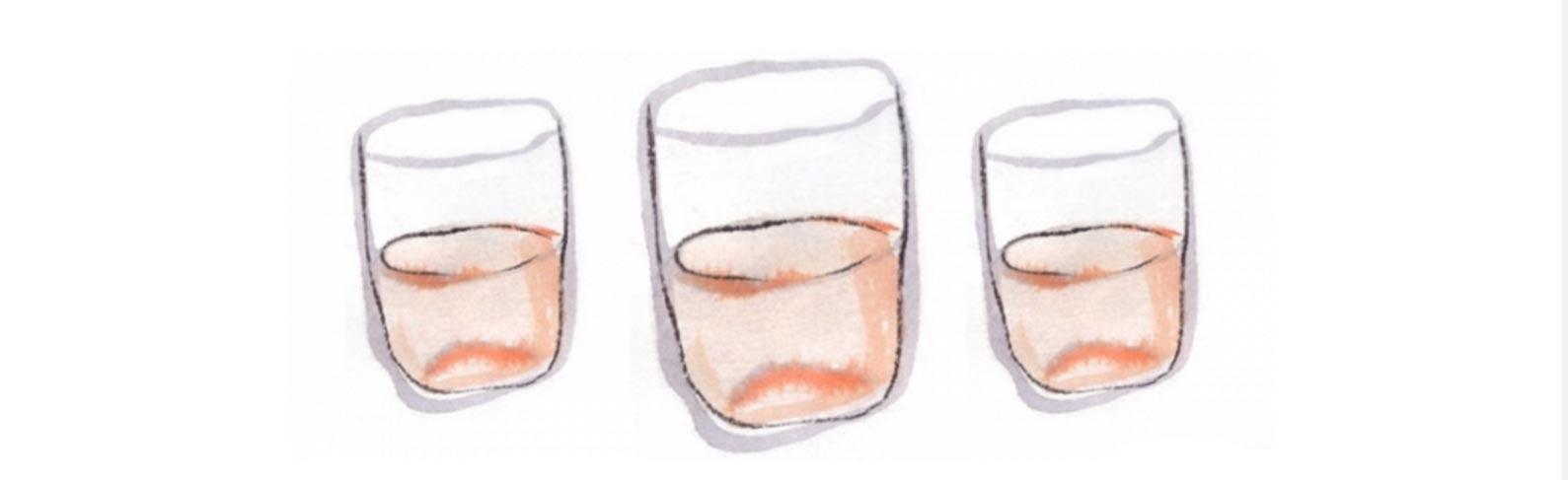 O copo e a flecha