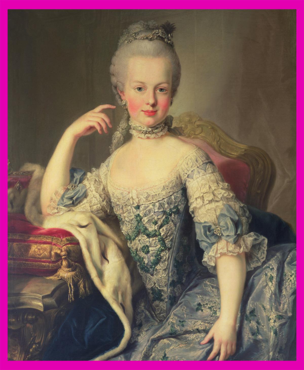 f22a022b4 Sete anos depois de casada com Luis XVI