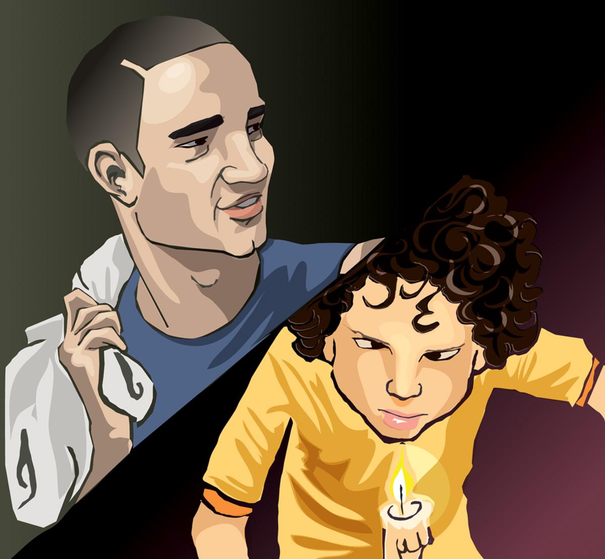 Caio Blat dá vigor ao personagem Macu e Victor Motta faz um garoto com poderes sobrenaturais