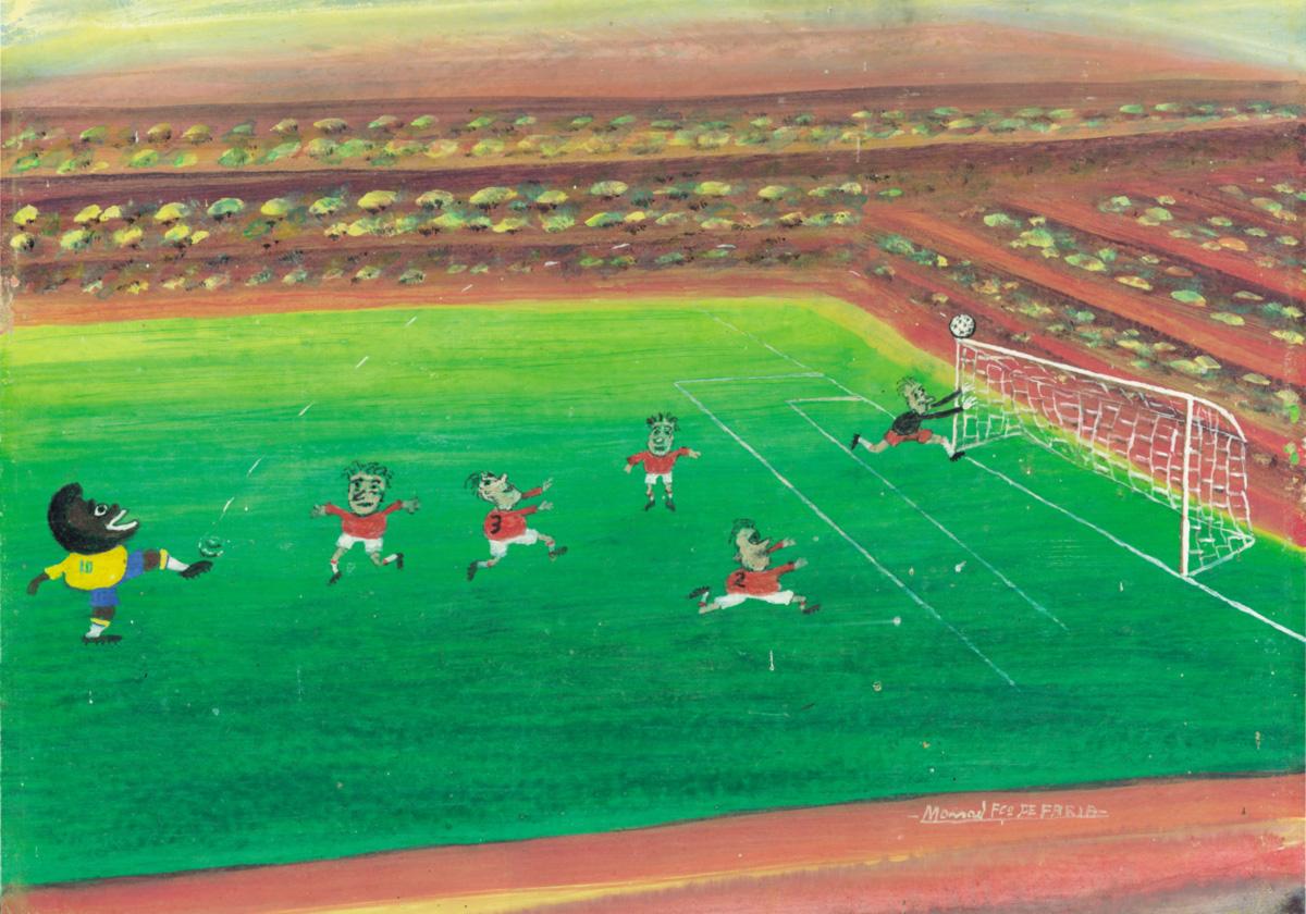 O livro de Sérgio Rodrigues passeia pelo processo que elevou o futebol a mito no Brasil; o papel dos locutores de rádio, que convertem peladas em eventos memoráveis, foi fundamental