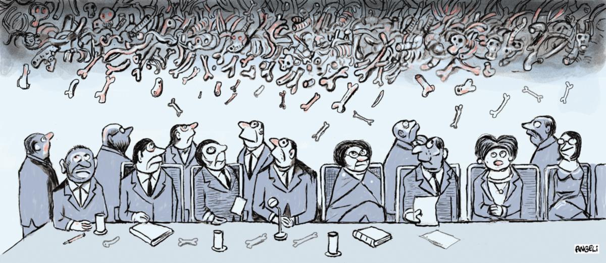 """Rosa Cardoso e Maria Rita Kehl defendem que o relatório final da Comissão da Verdade recomende a revisão da Lei da Anistia. Os demais conselheiros são contra ou tergiversam. """"Já tinhamos acertado que não iríamos discutir isso publicamente, mas os holofotes são poderosos"""", disse José Paulo Cavalcanti Filho, por sua vez criticado por ir pouco a Brasília, sede dos trabalhos"""