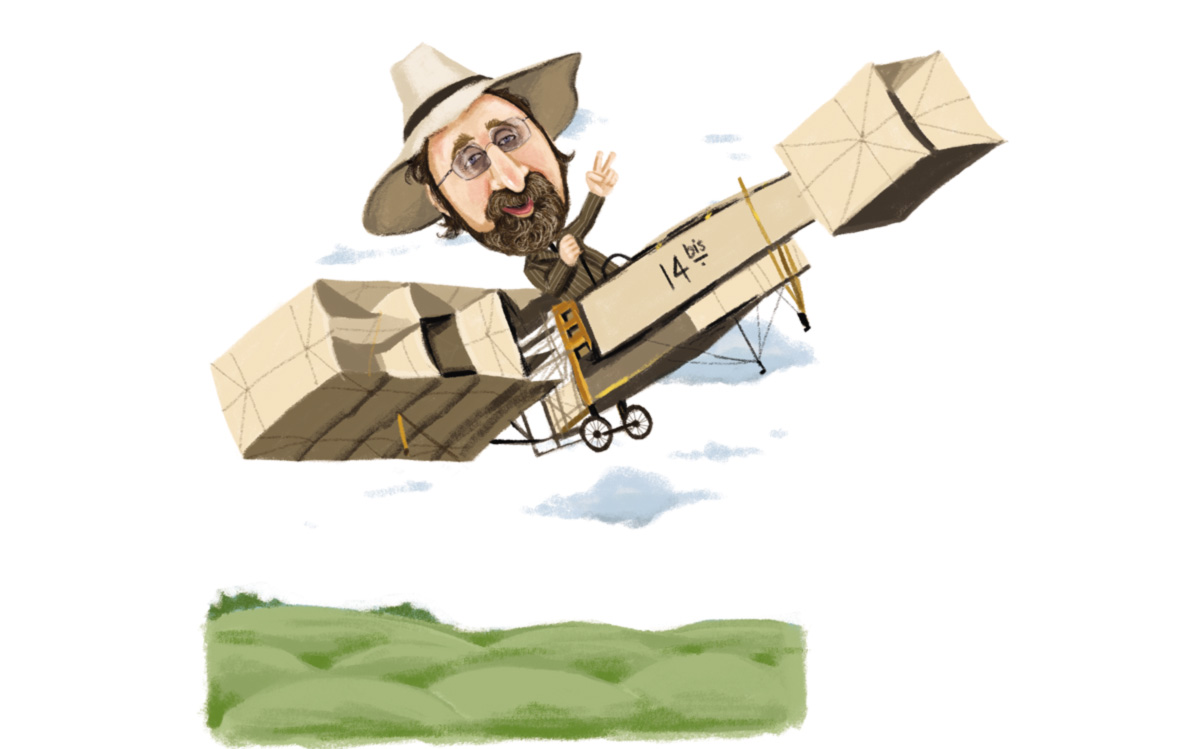 O voo de Nicolelis
