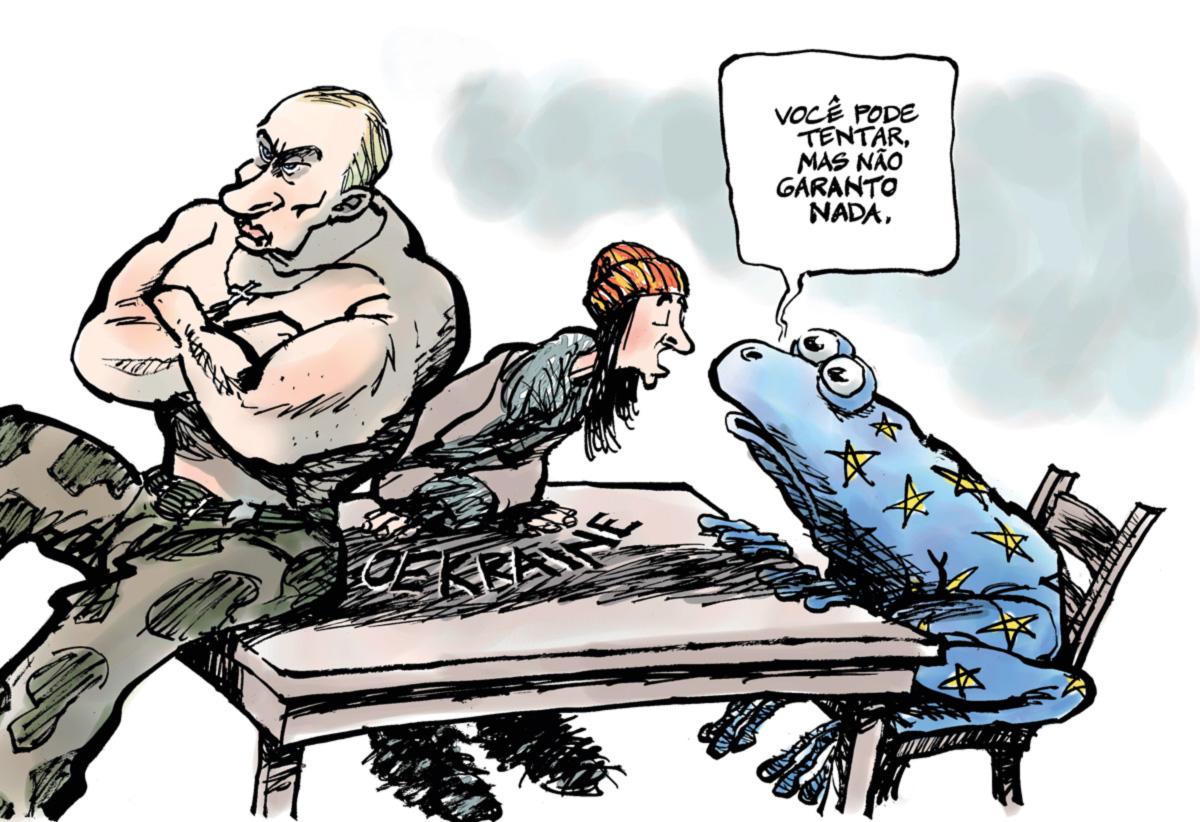 A Europa contém elementos nacionalistas e até fascistas, mas o que os manifestantes ucranianos buscam nela é a ideia da igualdade na liberdade, que hoje precisa ser ressuscitada