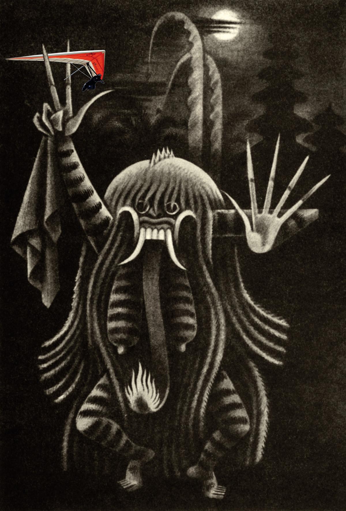 Rangda, a figura do mal na mitologia de Bali, onde Marco Archer venderia os 13,4 quilos de cocaína que levou para a Indonésia na asa-delta