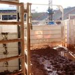 Bretes da arena de Barretos.