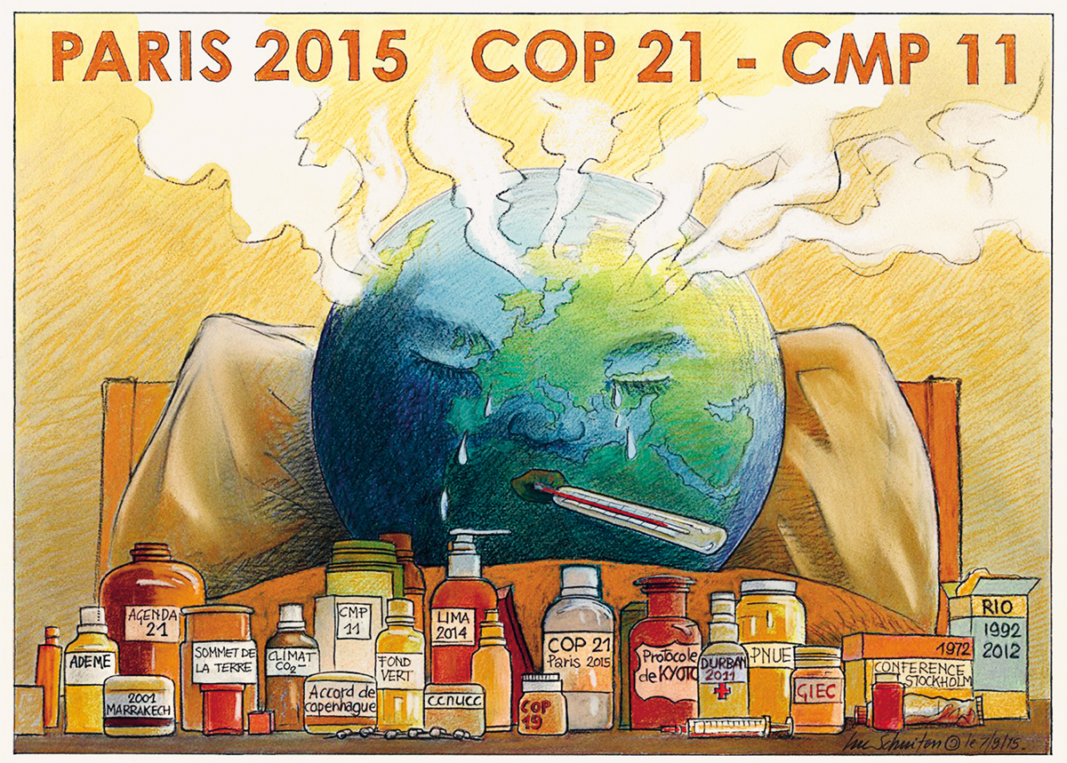 Depois de mais de duas décadas de negociações climáticas sem um compromisso internacional, o acordo de Paris é pelo menos um começo