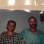 Chris Uhl e Paulo Barreto, então um jovem engenheiro florestal recém-saído da universidade, no período inicial do Imazon