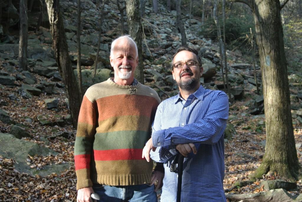 Chris Uhl e Beto Veríssimo - mentor e discípulo - se reencontraram em State College em outubro de 2015 depois de 15 anos sem se ver