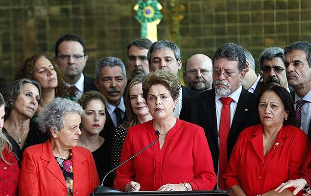 Os momentos finais de Dilma