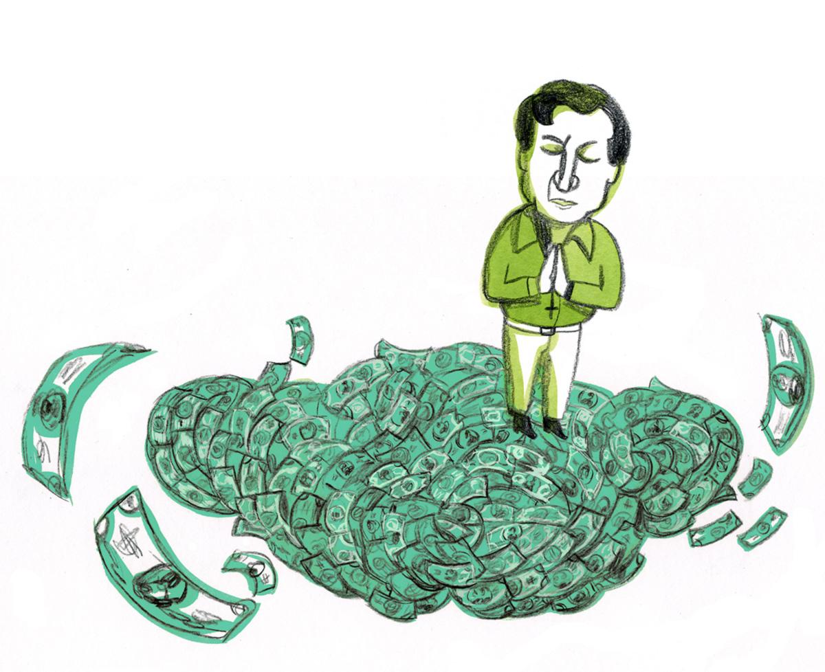 O negócio do dízimo