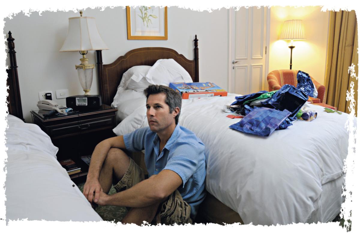 Em sua quinta vinda ao país, o americano David Goldman teve uma estadia sufocante no Rio de Janeiro. Mal saiu de seu quarto de hotel na avenida Atlântica e viu mais oficiais de Justiça do que pretendia. Quanto ao filho Sean, nem sinal