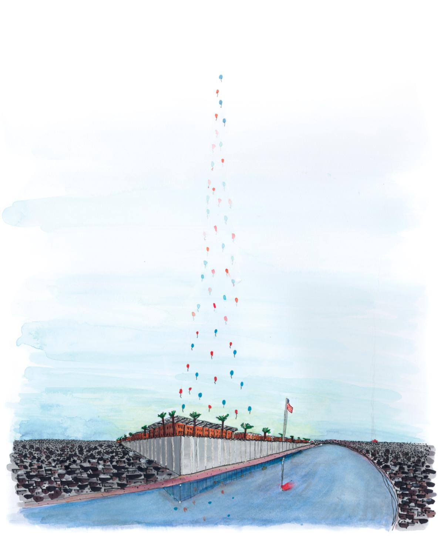 A nova embaixada-bunker reflete uma tendência urbanística nascida nos Estados Unidos na metade do século XX:  a que propõe o parque temático como modelo do mundo capitalista