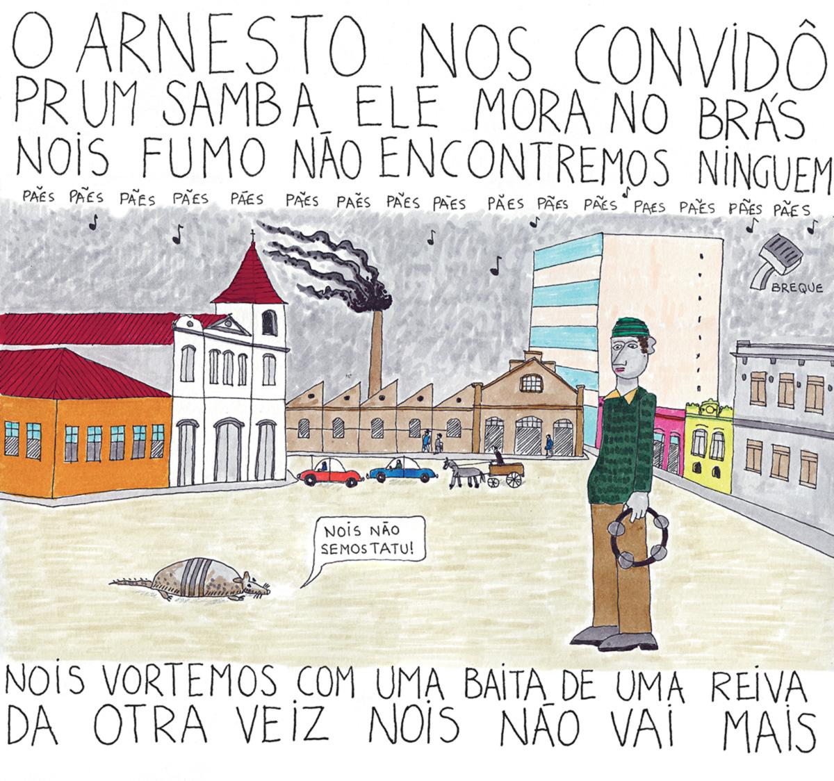Adoniran Barbosa, o homem que desmentiu Vinicius