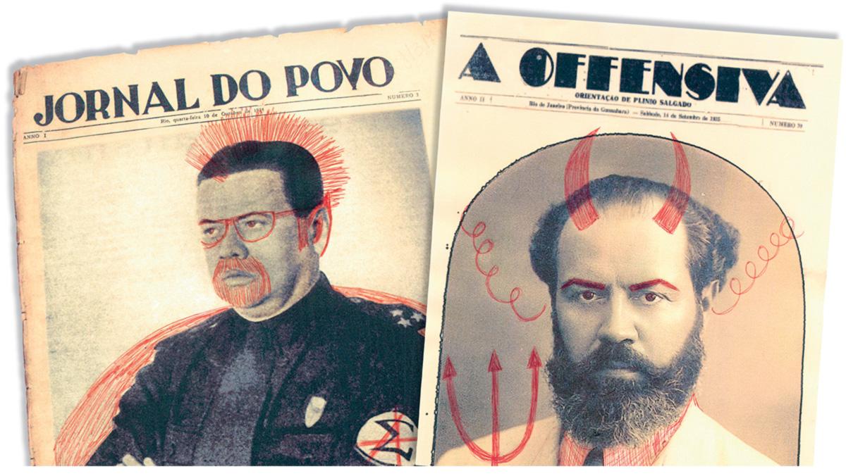 Apparício Torelly foi diretor do <i> Jornal do Povo </i>, porta-voz do Partido Comunista. Madeira e Freitas era redator-chefe do diário <i> A Offensiva </i>, principal órgão do integralismo. Em capos opostos, pertenciam à mesma família espiritual, ao nonsense, à subversão da linguagem empolada e à sátira contra as elites
