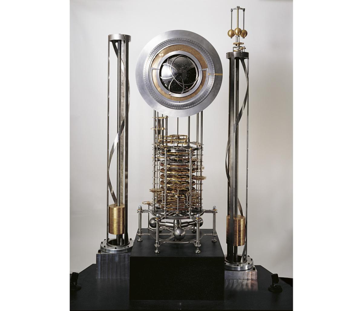 Protótipo do relógio de 60,2 metros