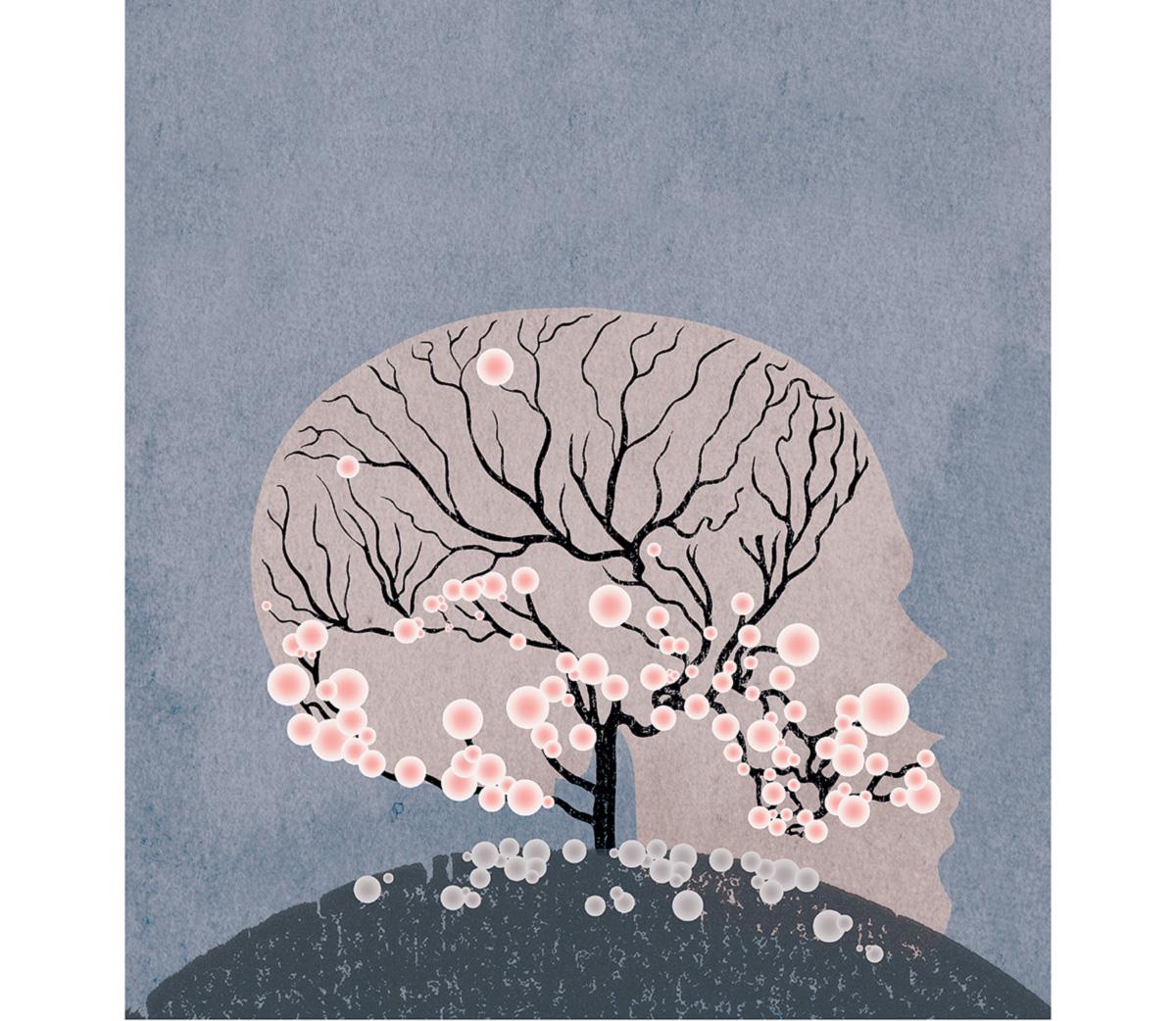 A tristeza e o horror do Alzheimer estão ligados ao parcelamento da morte: morte da autonomia, morte da memória, morte da autoconsciência, morte da personalidade, morte do corpo