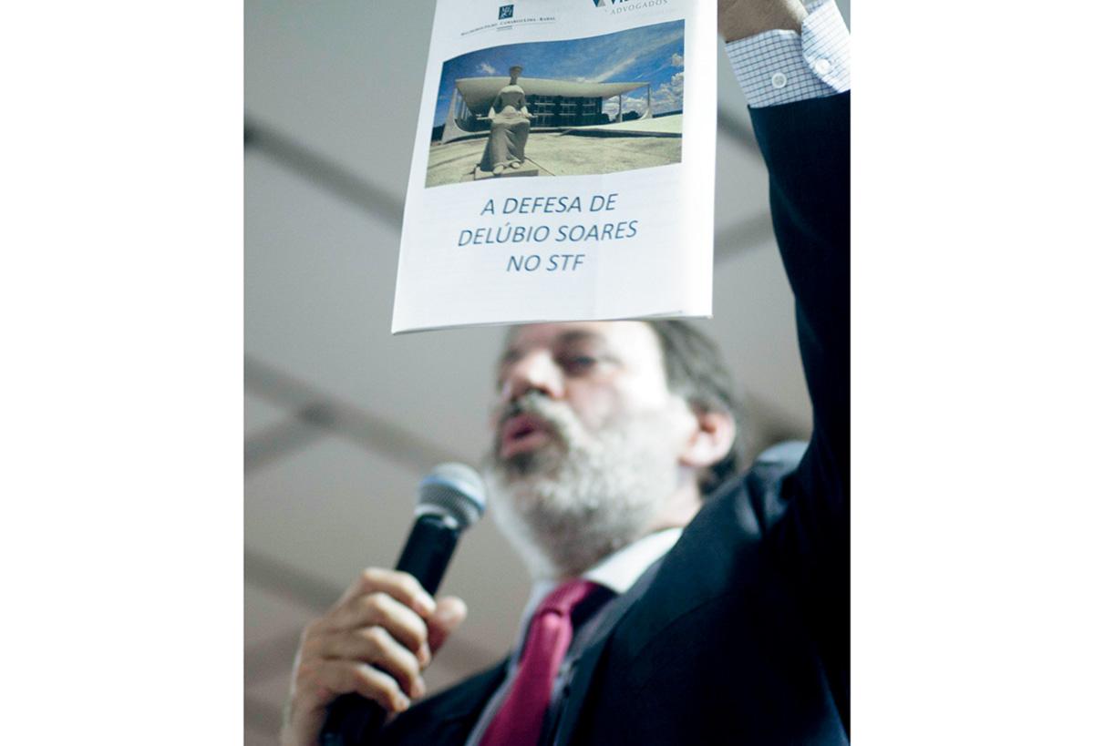 """""""A ditadura no Brasil foi seletiva, quis exterminar uma geração. Essa denúncia fez o mesmo. Queriam exterminar o PT. Foi acusado quem tinha cargo, e não quem recebeu dinheiro."""""""