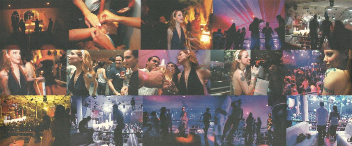 """Cenas da Pacha, a boate que custou 6 milhões e cobra 2 mil reais por uma noite no camarote: guarda pretoriana, pulseirinhas coloridas e espaço para 3 mil pessoas num """"ambiente Ibiza"""""""
