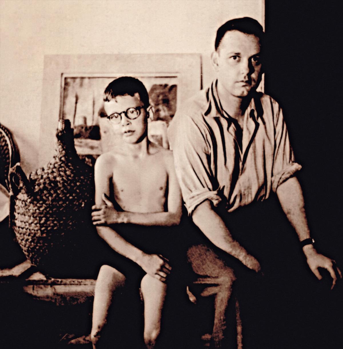 """Rudá, com o irmão mais velho, Nonê: """"De mulher em mulher, meu pai me largou com o motorista, que me batia com vara de marmelo"""""""