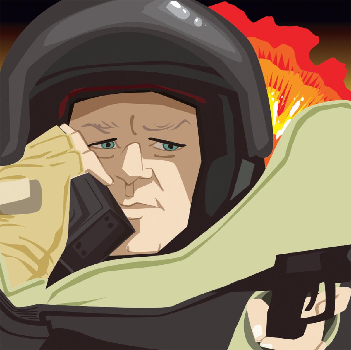 """A melhor maneira de desativar uma bomba, ele diz, é """"do jeito que você não morre"""""""