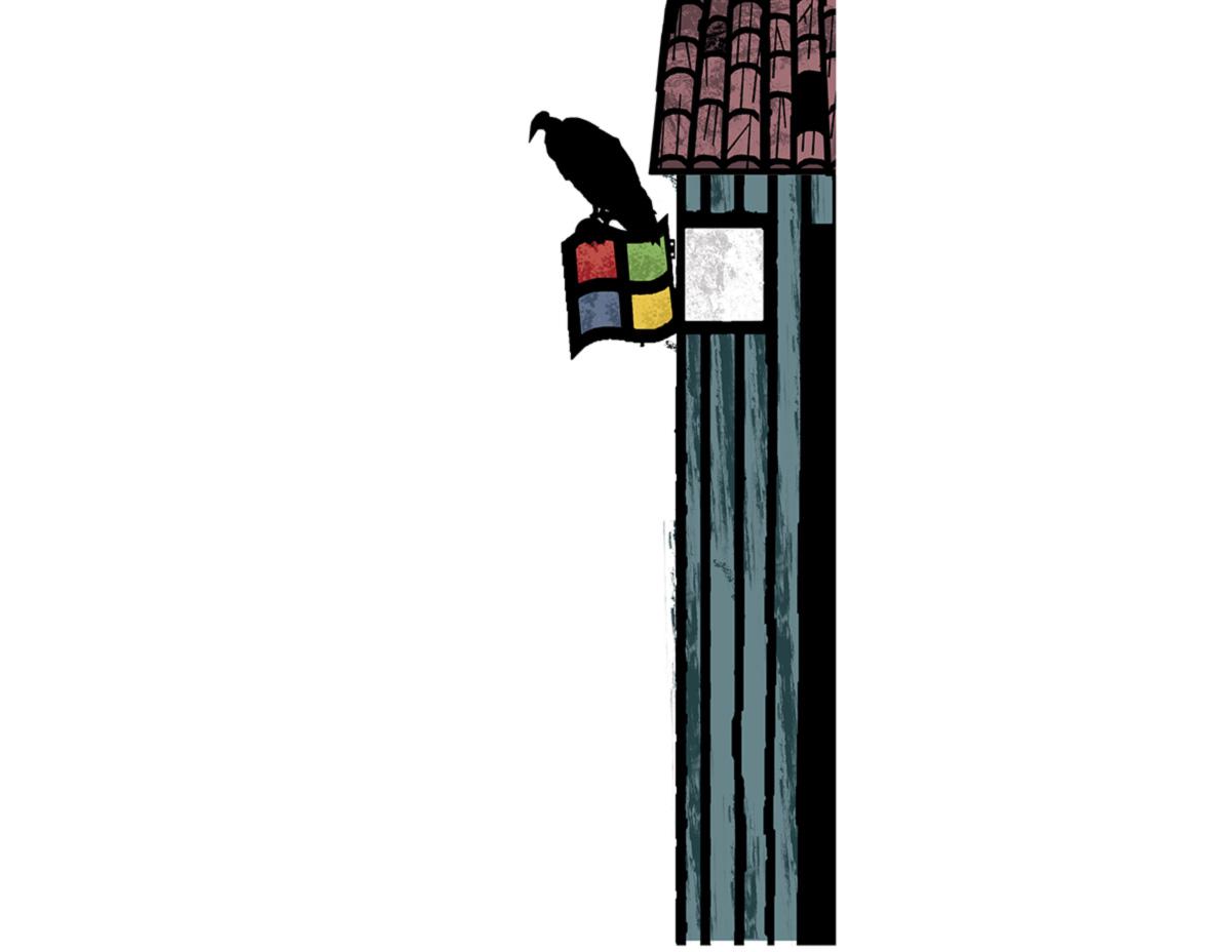 Em 1998, a equipe da Microsoft já tinha pronto um livro eletrônico. Bll Gates o rejeitou de imediato. Ele achou que o produto não tinha cara de Windows. Em vez de uma tabuleta com tela de toque, a empresa lançou o Microsoft Reader, para rodar num aperelhinho do tamanho de um telefone. Anos depois, Amazon e Apple tirariam grandes lucros do <i> tablet </i>
