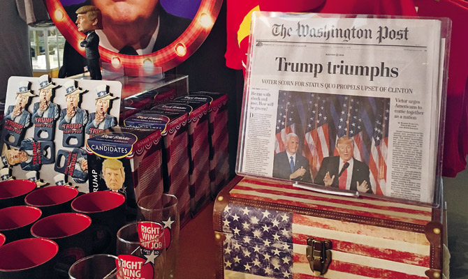 O jornalismo pós-Trump