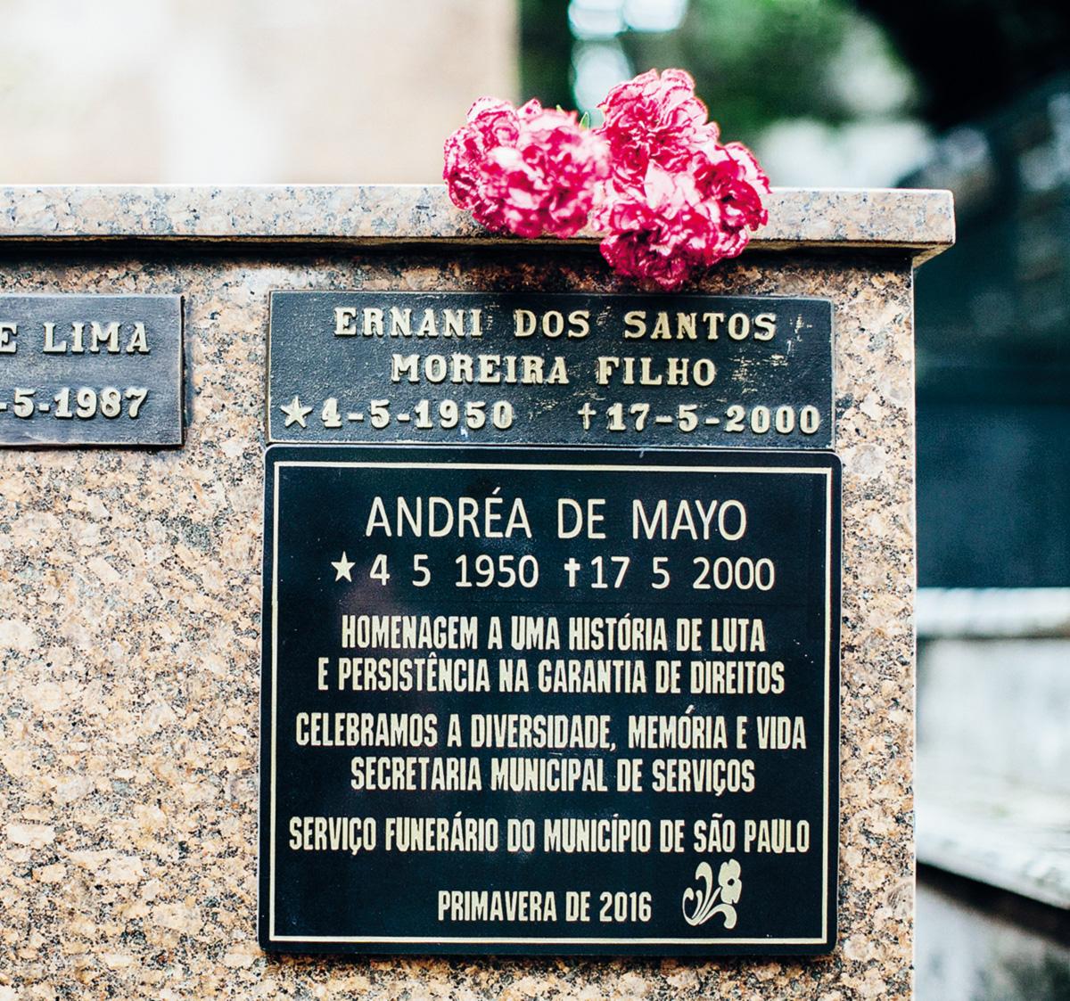 Antes de se transformar em Andréa, Ernani lavou carros, engraxou sapatos e morou na rua