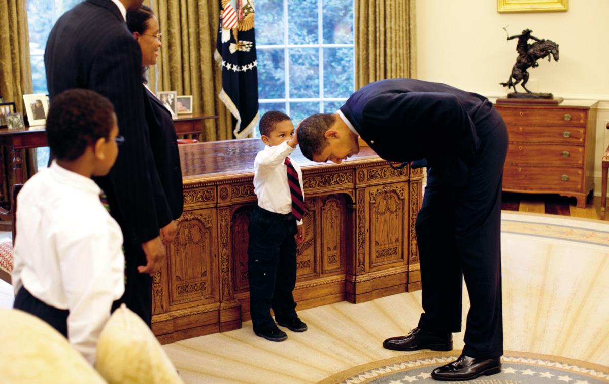 Meu presidente era preto