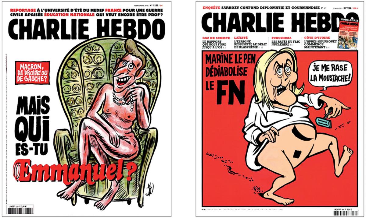 """Pesquisas apontam um segundo turno entre Marine Le Pen, da extrema direita, e Emmanuel Macron, um novato, na eleição francesa; analistas falam em """"ruptura"""" entre políticos e eleitores"""