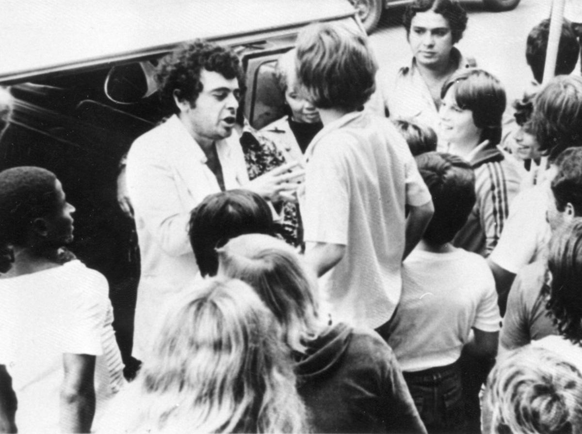"""Glauber Rocha em 1979. Para Hélio Pellegrino, um dos """"grandes cineastas do mundo""""."""