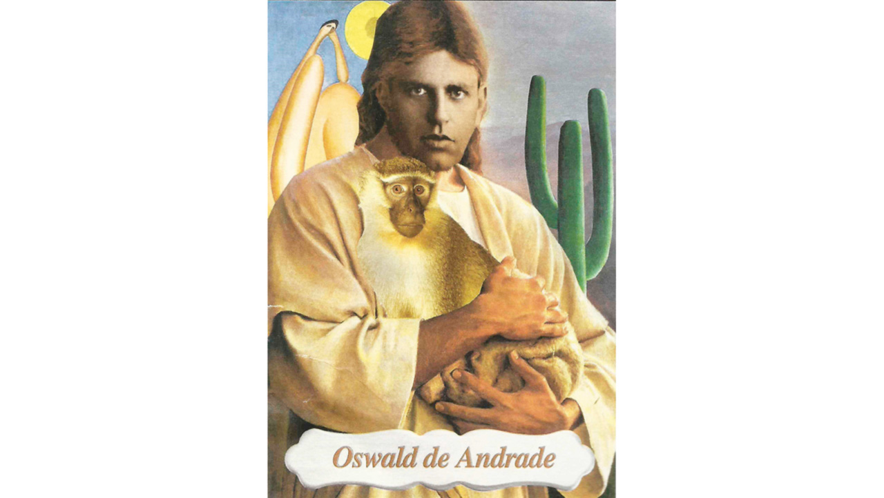 """""""Vós, que viestes à Terra para alegrar nossas almas, renovai nossas utopias"""", diz a prece de são Oswald, criada pela nova denominação religiosa"""