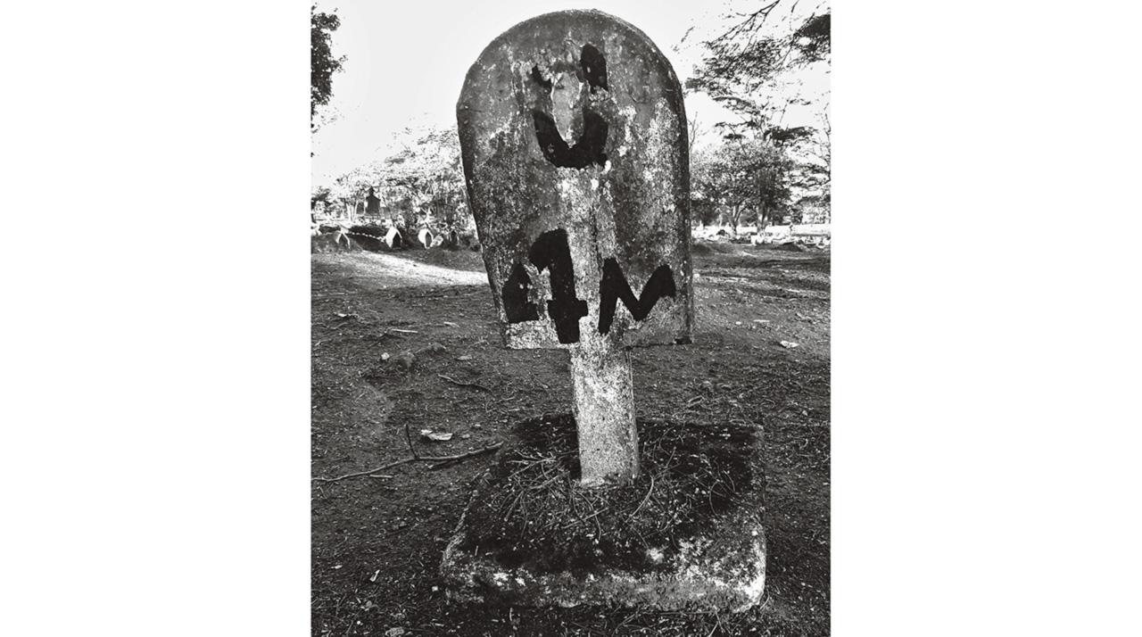 No cemitério paulistano da Vila Formosa II, a quadra 4M abriga os membros seccionados