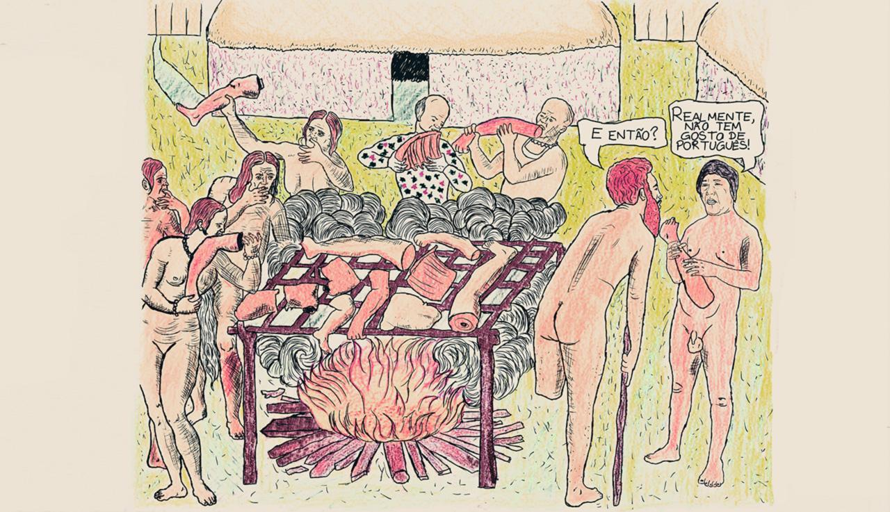 Além de minar a força dos tupinambás, a prática do pité-na-taconha diminuiu o número de mulheres prenhes. Era uma espécie de canibalismo esclarecido: tratava-se de ingerir uma porção do organismo de outro humano, sem ter que matá-lo antes
