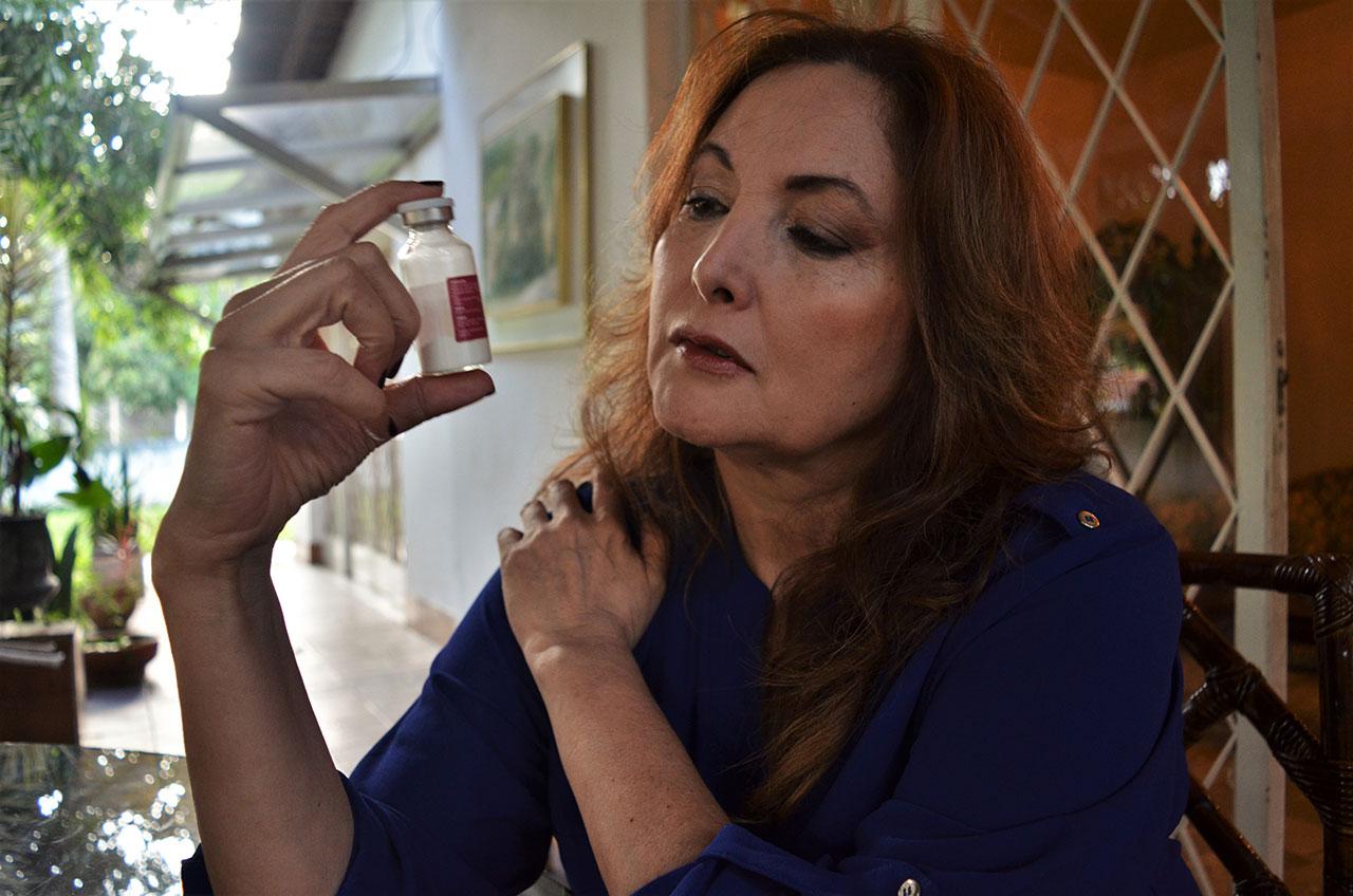 Maritza Pineda Montoya, Miss Venezuela 1975: seus dias se resumem a buscar remédios para a irmã que trata um câncer.