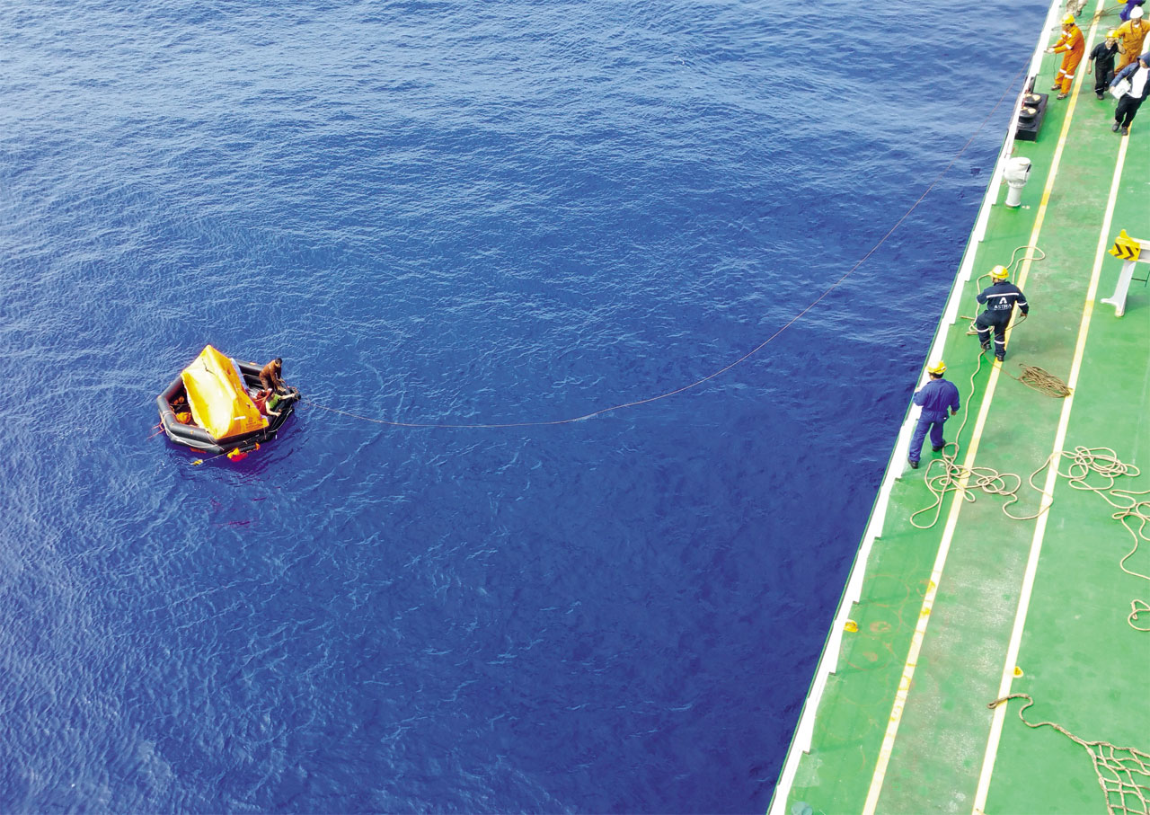 Em abril de 2017, um navio maltês resgatou os dois únicos sobreviventes do naufrágio. As outras vítimas da tragédia – oito sul-coreanos e catorze filipinos – ainda não foram encontradas