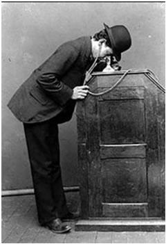 O cinetoscópio de Thomas Alva Edison