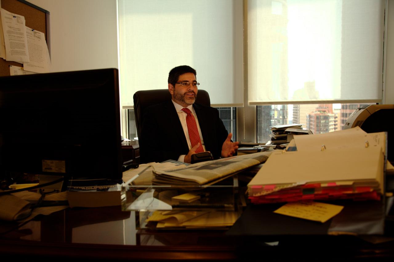 O advogado Jeremy Lieberman, do escritório Pomerantz, representante dos investidores prejudicados pelo esquema de lavagem de dinheiro na estatal. O grupo foi o que mais lucrou com o acordo