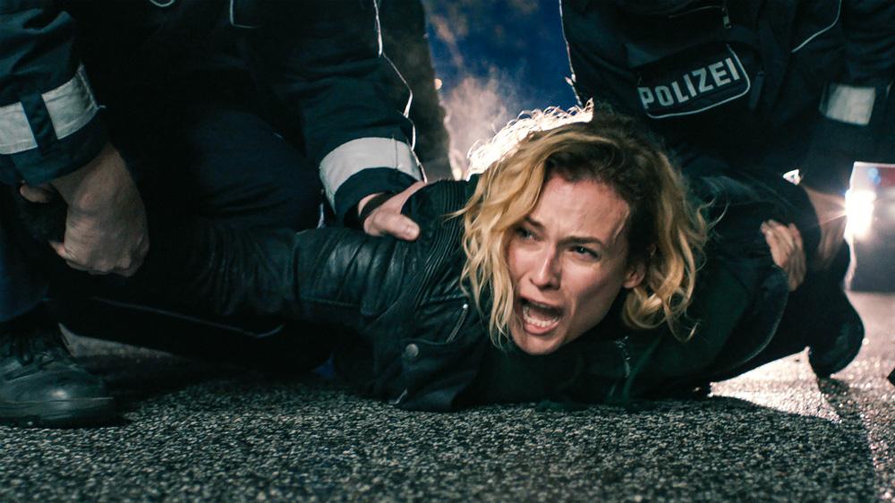 Diane Kruger, protagonista de <i>Em Pedaços</i> no papel de Katja Sekerci, recebeu o prêmio de melhor atriz no Festival de Cannes