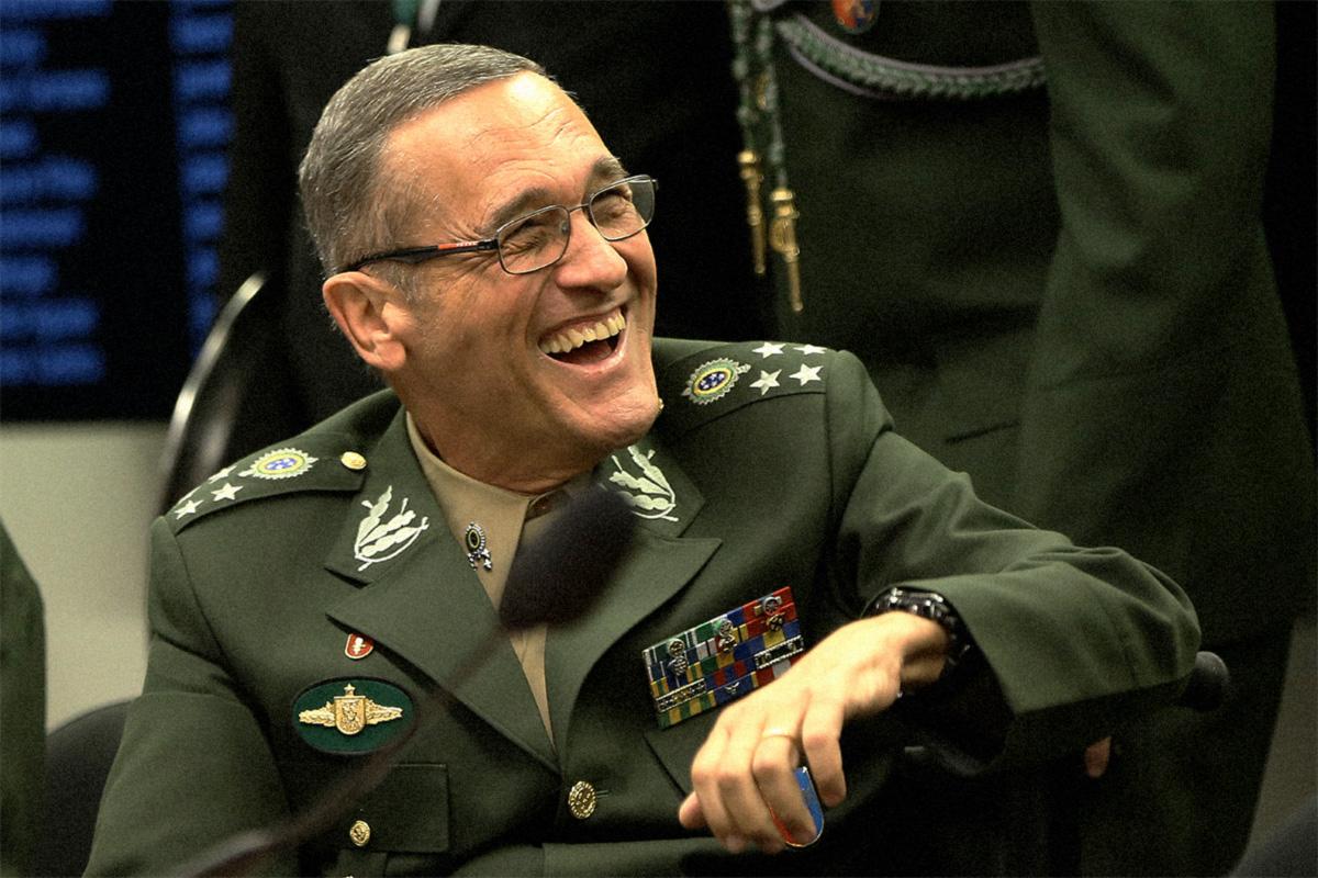 General Villas Bôas, em audiência na Comissão de Relações Exteriores e de Defesa Nacional, em 2017
