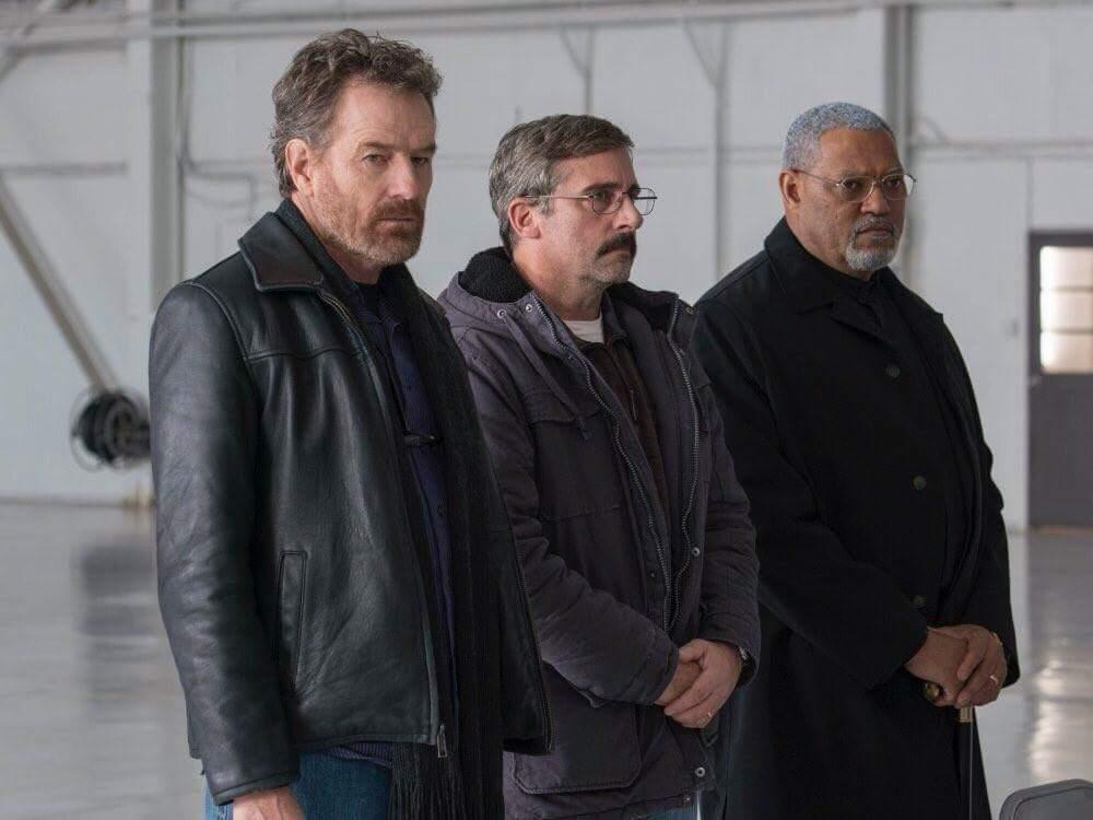 Bryan Cranston, Steve Carell e Laurence Fishburne são veteranos que se encontram quase três décadas após a Guerra do Vietnã
