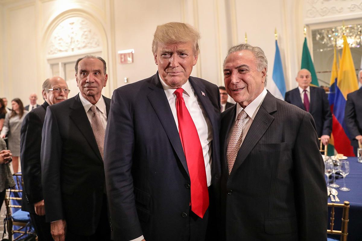 """""""Vai ser a maior pacificação da história da terra em todos os tempos"""", afirmou Trump sobre a ação no Brasil"""