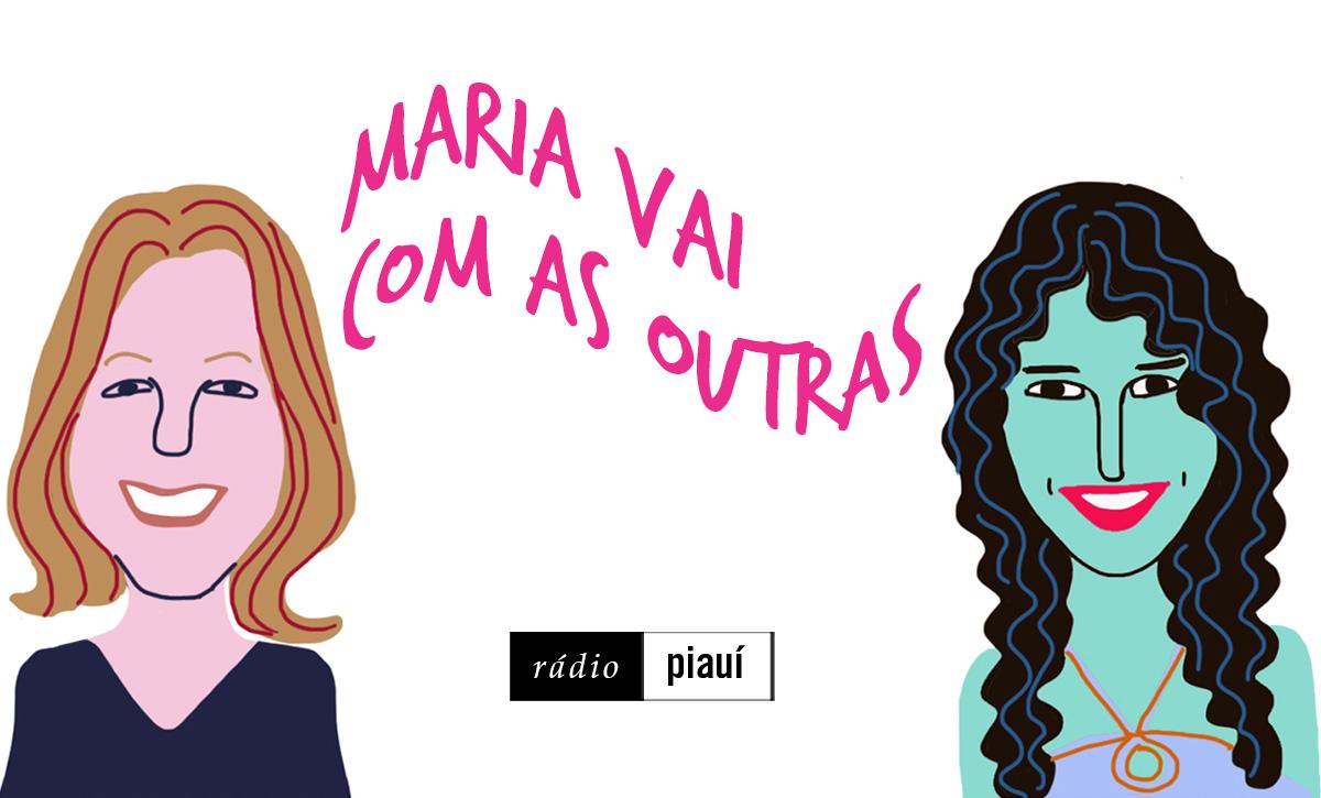 Ana Carolina Carnaval e Luize D'Urso, convidadas do segundo episódio, pelo traço do ilustrador Caio Borges