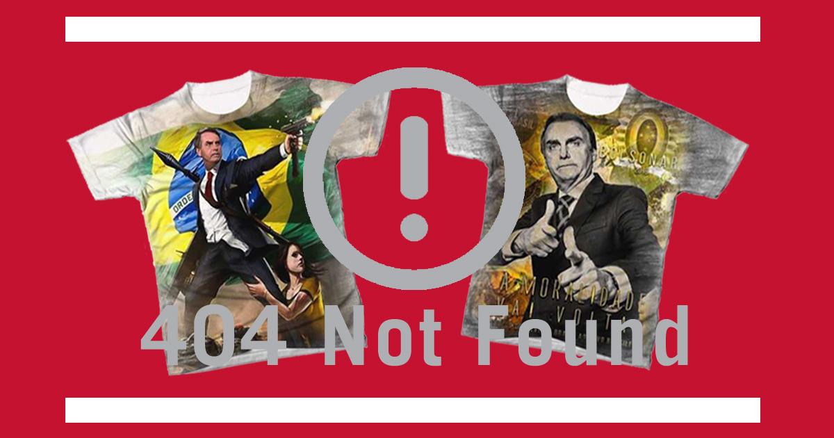 3eb41e5c5db8d Camisetas pró-Bolsonaro tiveram venda suspensa pelas Americanas.com  dono da  confecção diz que pouco se importa